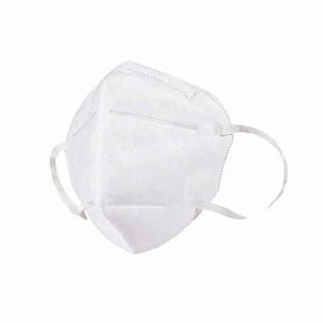 FFP2 fehér gumis szájmaszk 10db/csomag