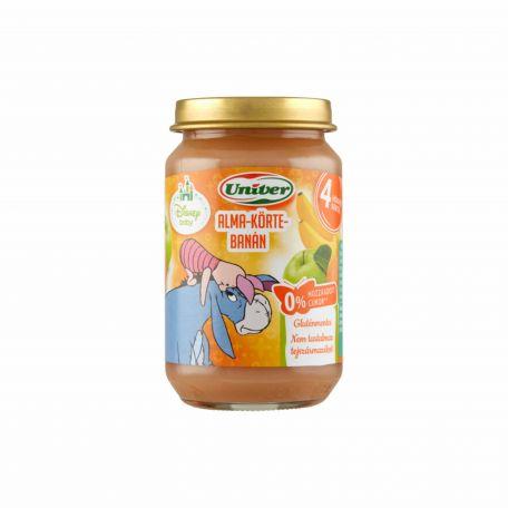 Univer bébidesszert alma-banán-körte-mangó (4 hónapos kortól) 163g