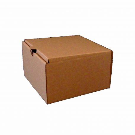 Papír fedeles hamburgeres doboz 150x150x90