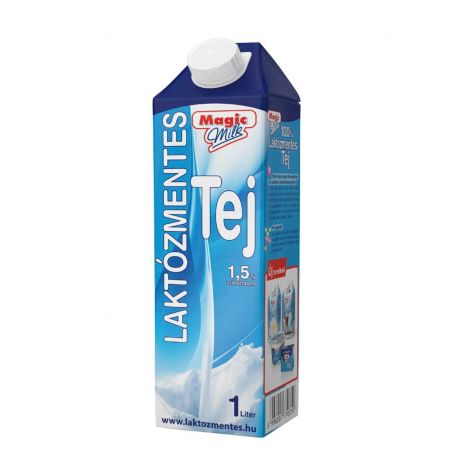 Magic Milk laktózmentes UHT tej 1,5% 1l