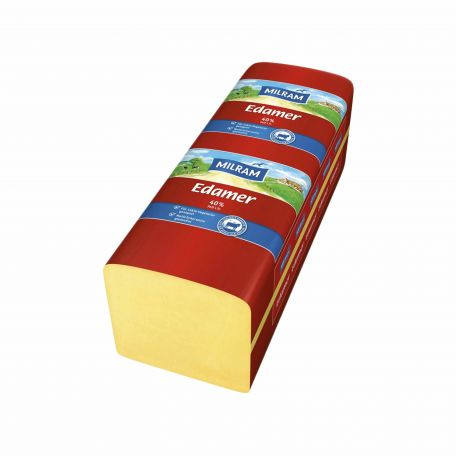 Milram laktózmentes edami sajt 3kg