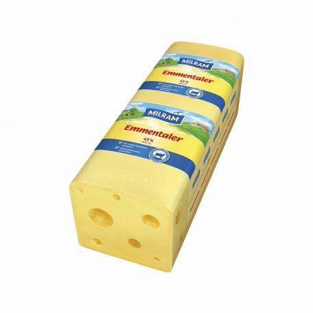 Milram laktózmentes emmentáli sajt 3kg