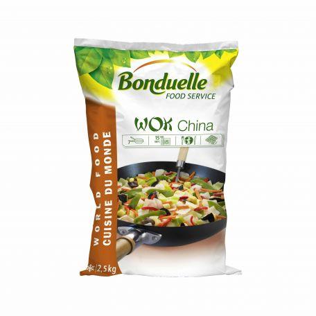 Bonduelle wok zöldségkeverék fagyasztott 2,5kg