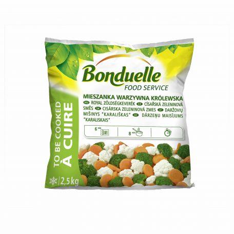 Bonduelle royal zöldségkeverék fagyasztott 2,5kg