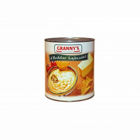 Granny's cheddar sajtszósz 2,9kg