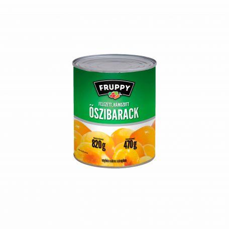 Őszibarack konzerv 820g/470g