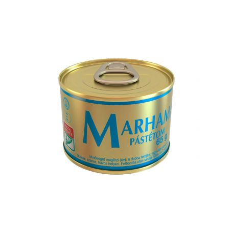 Marha májpástétom konzerv 65g