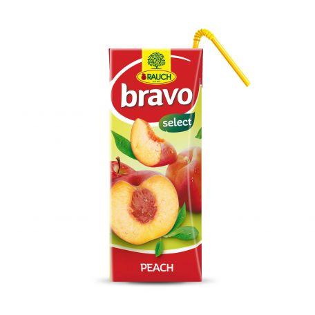 Rauch Bravo őszibarack üdítőital 200ml