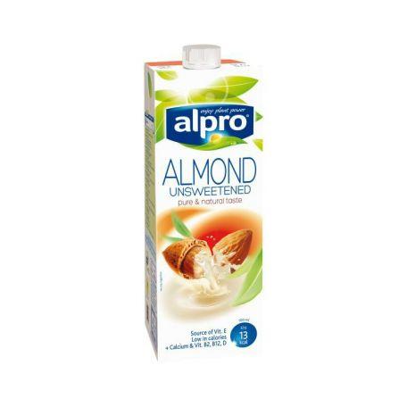 Növényi ital mandulaital cukormentes alpro 1l