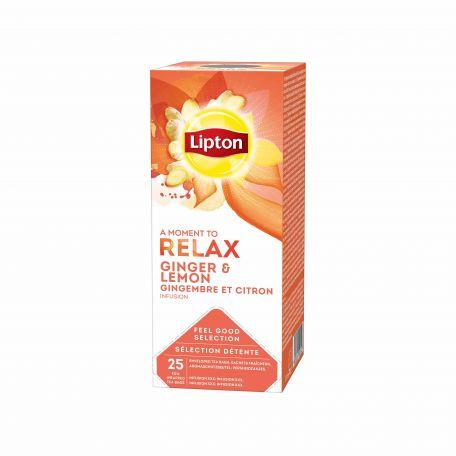 Lipton citrom gyömbér tea 25x1,6g