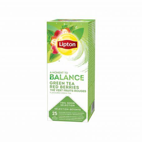 Lipton zöld tea piros bogyósgyümölccsel 25x1,4g