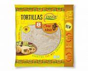Zanuy kukoricás lágy tortilla 8db/csomag 20cm 320g