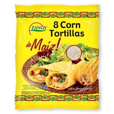 Kukoricás tortilla 8db/csomag 20cm 315g