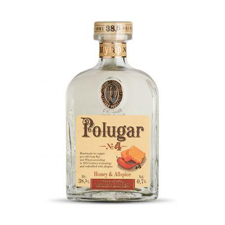 Vodka Polugar N.4 - Honey & Allspice 0,7l