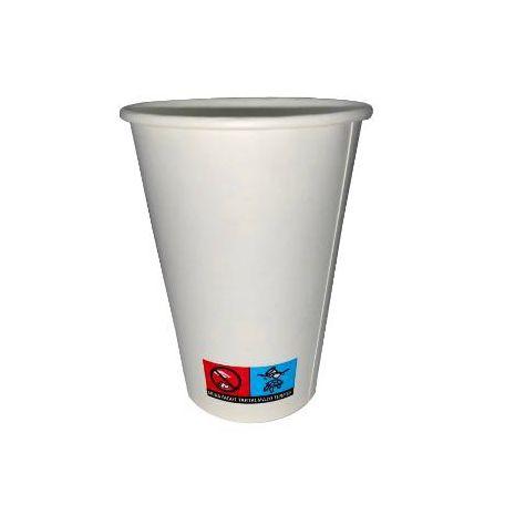 Papír pohár 2,5dl 100db/csomag