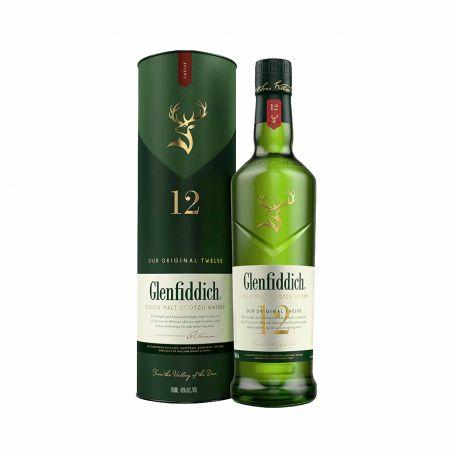 Glenfiddich 12 éves whiskey 0,7l