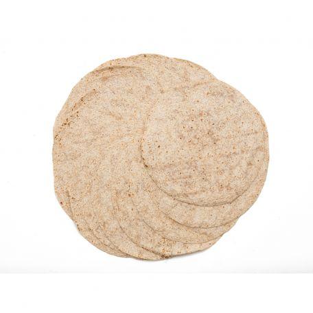 Teljes kiőrlésű tortilla 18db/csomag 30cm 1710g
