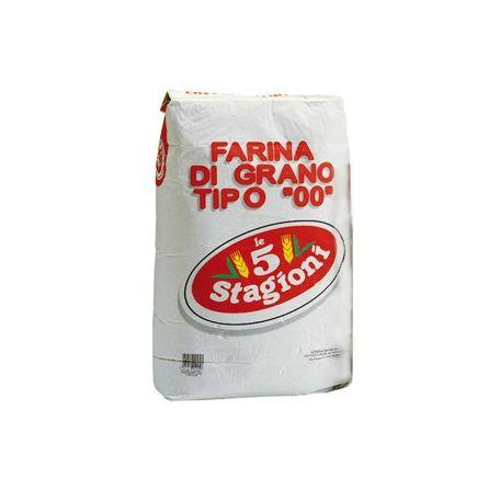 """5-Stagioni pizzaliszt """"00"""" 25kg"""
