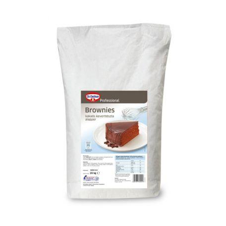 Dr. Oetker brownies kakaós tészta alappor 20kg