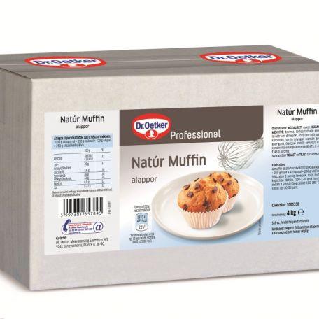 Dr. Oetker natúr muffin alappor 4kg