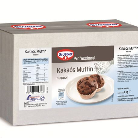 Dr. Oetker kakaós muffin alappor 4kg