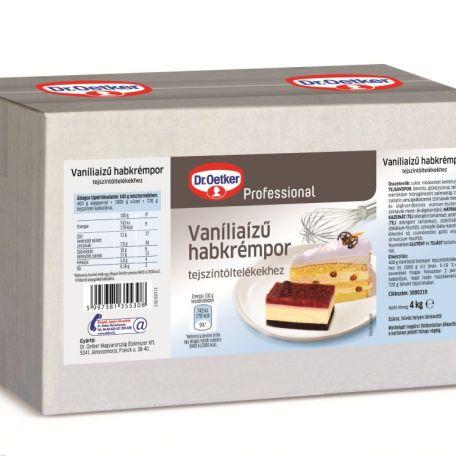 Dr. Oetker vaníliaízű habkrémpor 4kg