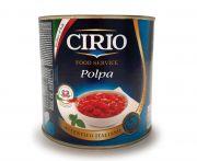 Cirio paradicsomkonzerv hámozott aprított 2500g/1650g