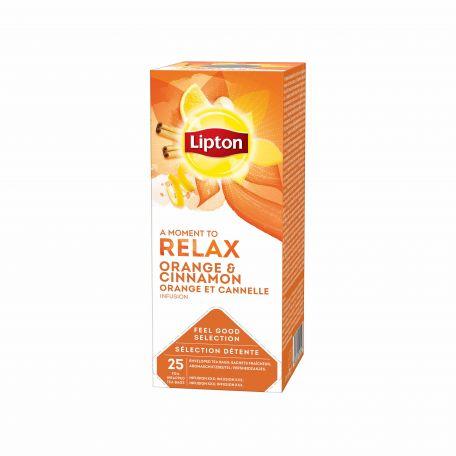 Lipton narancs és fahéj tea 25x1,6g