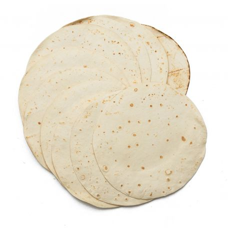 Fagyasztott tortilla 25cm 10db