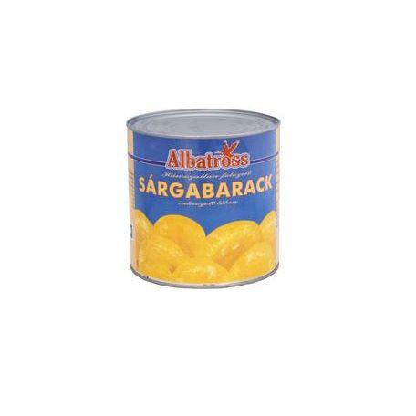 Sárgabarack konzerv 2600/1500g