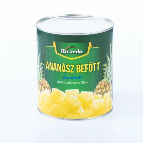 Ananász konzerv darabolt 3035g/1840g