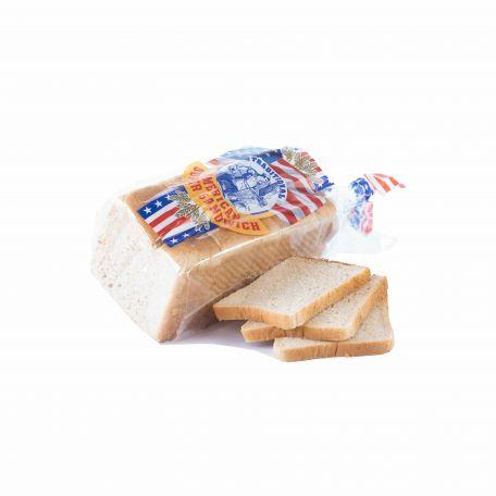 Amerikai fehér toast kenyér szeletelt 750g