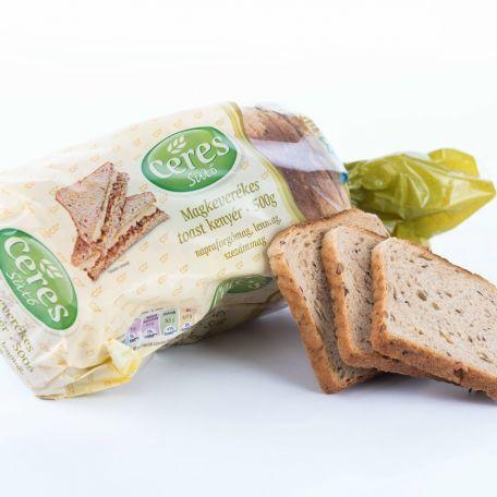 Magkeveréses toast kenyér 500g