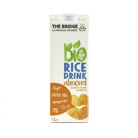 Bio mandulás rizsital 1l