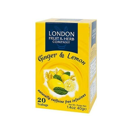 London gyömbér-citrom tea 40g