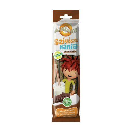 Minimax szívószálmánia - csoki 30gr