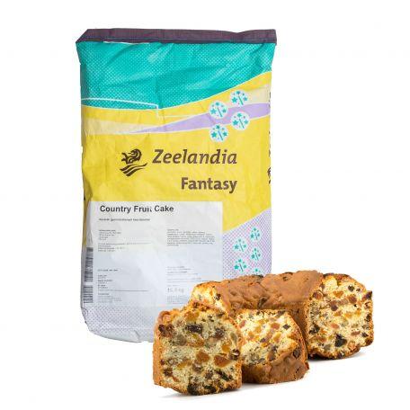 Zeelandia country fruit cake keverék 15kg