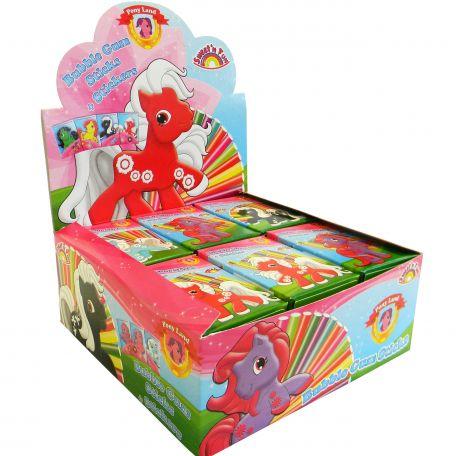 Ponyland bubble gum sticks/18db rágógumi