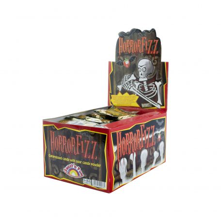 Horror fizz display/100db savanyú cukorka