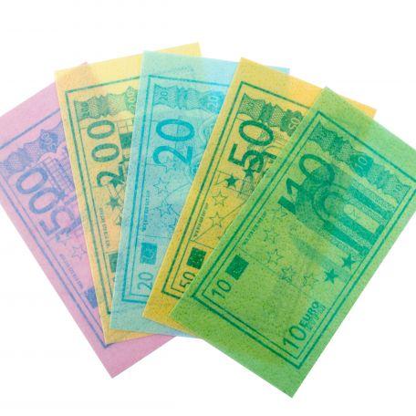 Euro edible paper/400db ehető euro ostyából