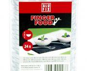 Alufix műanyag kicsi tálka 24db/csomag
