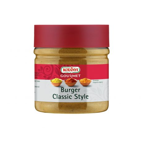 Kotányi klasszikus hamburger fűszer 400ccm/225g