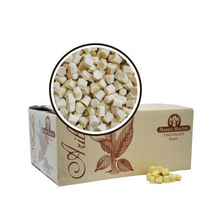 Ariba fehércsokoládé pasztilla 31% 10kg