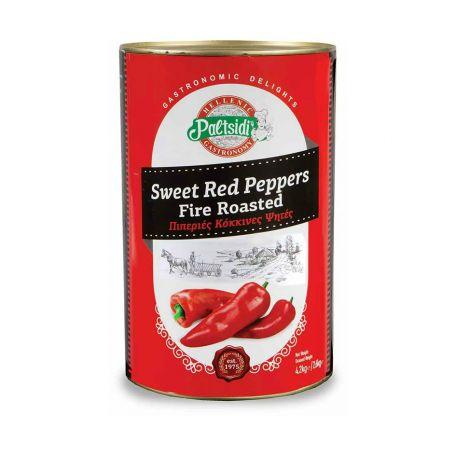 Sült grillezett paprika konzerv 4200g/2600g