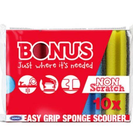 Bonus formázott mosogatószivacs 10db-os