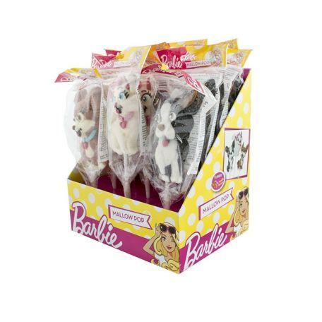 Barbie marshmallow pop 35g/12db  pillecukor nyalóka