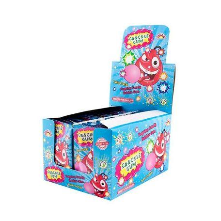 Crackle gum tutti frutti/ 50db  pattogó cukorka