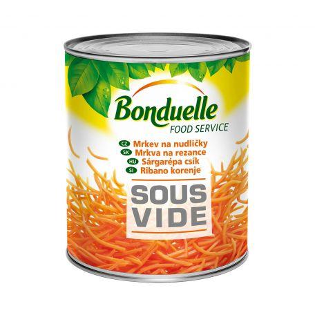 Bonduelle sous vide sárgarépacsík konzerv 2000g/1750g