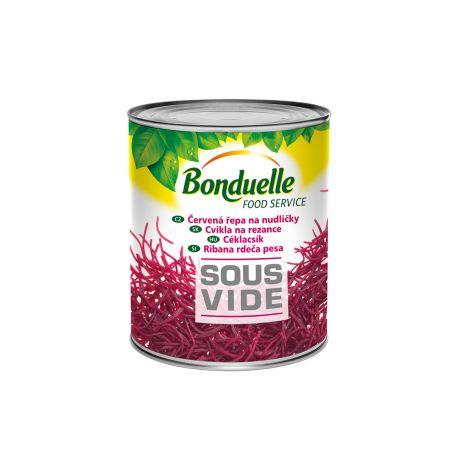 Bonduelle sous vide céklacsík konzerv 2185/1850g