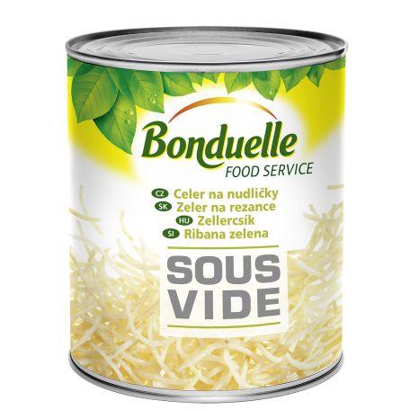 Bonduelle sous vide zellercsík konzerv 2100/1900g